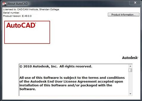 CAD Labs AutoCAD Borrow a license