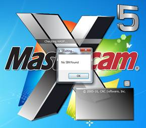 MasterCAM No SIM Found Fix