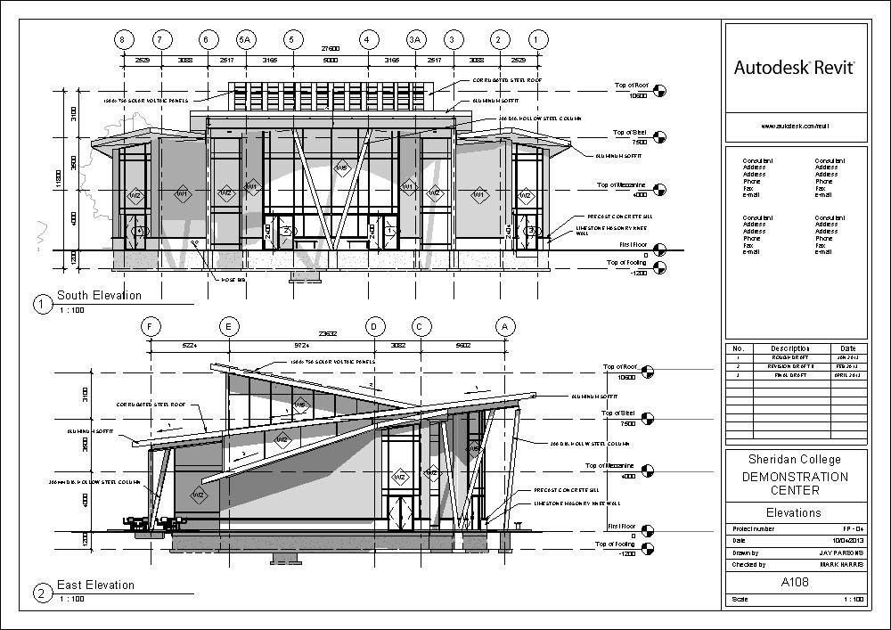 Jay parsons portfolio for Construction drawings and details for interiors